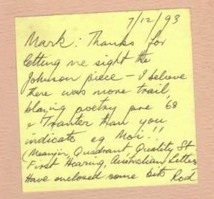 Milgate note