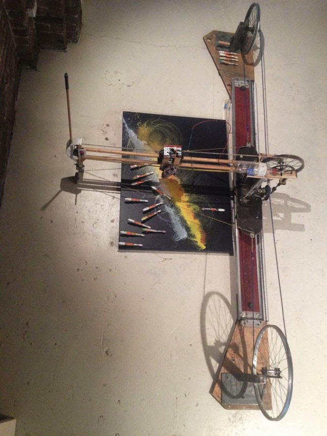 Jeff Wood Painting Machine 2015 - Photograph Articulate