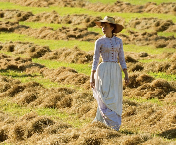 Carey Mulligan as Bathsheba Everdene in Thomas Vinterberg's adapation of Hardy's Far From the Madding Crowd