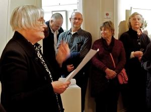Maureen Gordon opening Floribunda