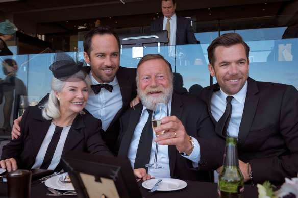 Off the wagon: Robyn Nevin. Patrick Brammall, Jack Thompson and Alex Dimitriades