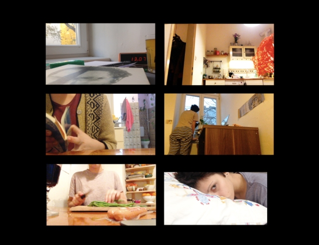 Suzy Faiz, Apartment, 6-channel video, 2014. Image courtesy of the artist