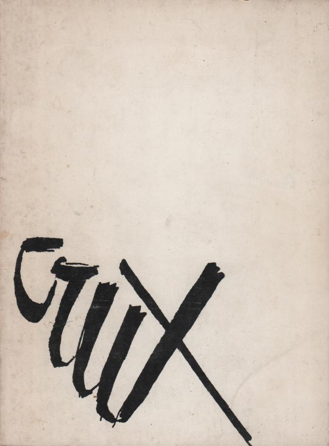 The cover of Crux by Philip Roberts. Island Press 1973