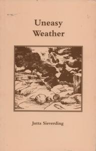 Uneasy Weather by Jutta Sieverding. Island Press 1993