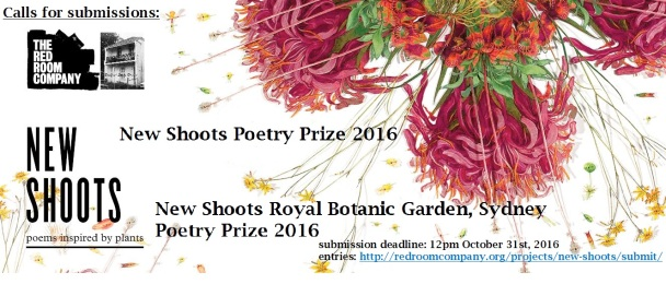 New Shoots Poetry Prize banner 2