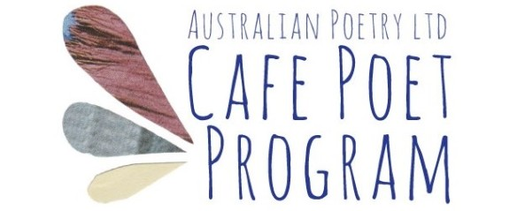 Australian Poetry Cafe Poet Program banner
