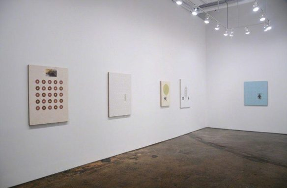 Ken Weathersby: Time After Time at Minus Space, installation view (Image courtesy Minus Space)