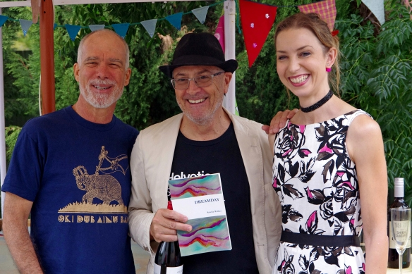 Mike Ladd, Rob Walker and Amelia Walker. photograph by Asbjorn Kanck 2018