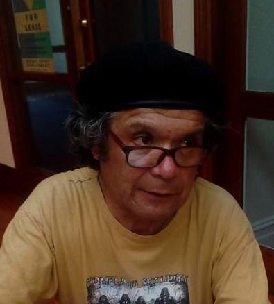 !Juan Garrido. photograph taken by Tania Garrido (2017)