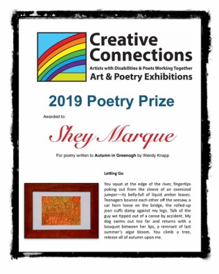 2019 Poetry Prize Shey M